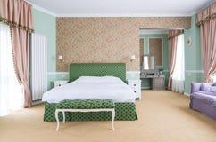 Stylowy pokój hotelowy Zdjęcia Stock