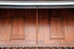 stylowy tajlandzki okno Fotografia Stock