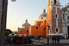 Stylu kościelny dziedzictwo Hiszpańska konkieta w Meksyk zdjęcie stock