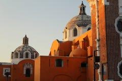 Stylu kościelny dziedzictwo Hiszpańska konkieta w Meksyk fotografia royalty free