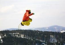 Stylu wolnego narciarstwo w Szczyrk Polska Zdjęcia Royalty Free