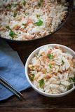 Styr fry rice royalty free stock image