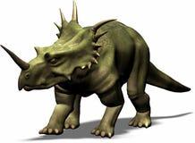 styracosaurus 库存图片