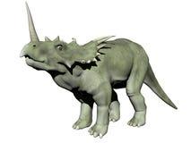 Styracosaurus dinosaur - 3D odpłacają się Obraz Stock