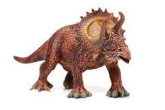 Styracosaurus dinosaura postaci zabawka Obrazy Royalty Free