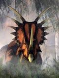 Styracosaurus royalty free illustration