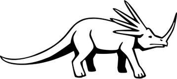 Styracosaurus stock illustration
