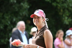 styrer evian golf 2006 för creameren paula Royaltyfri Foto