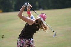 styrer evian golf 2006 för creameren paula royaltyfria bilder
