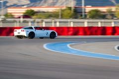 17 22 styrer 2009 för gruppkonkurrens för adac august callaway för corvette för den ger gt gt3 curcuit luca ludwig hennericien ma Royaltyfri Foto