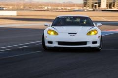 17 22 styrer 2009 för gruppkonkurrens för adac august callaway för corvette för den ger gt gt3 curcuit luca ludwig hennericien ma Arkivfoto