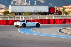17 22 styrer 2009 för gruppkonkurrens för adac august callaway för corvette för den ger gt gt3 curcuit luca ludwig hennericien ma Arkivfoton