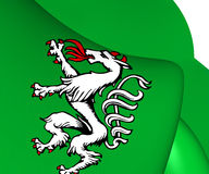 Styrian Banner of Arms, Austria. Royalty Free Stock Photography