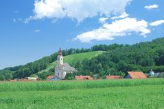 Styrian Tuscany,Austria Stock Images