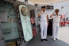 Styrka Japan för maritimt självförsvar Fotografering för Bildbyråer
