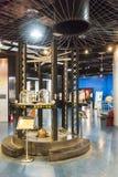 Styrka och mekaniskt utställningområde arkivfoto