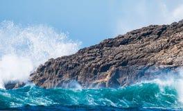 Styrkan av havet royaltyfri foto