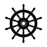 Styrninghjul av ett skepp stock illustrationer