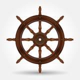 Styrninghjul för skepp Fotografering för Bildbyråer