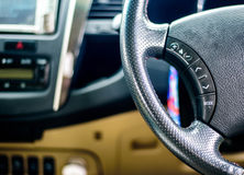Styrninghjul, fokusstyrninghjul Royaltyfri Fotografi