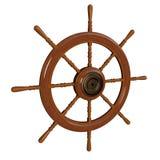 styrningshjul för kapten s Royaltyfri Fotografi