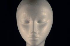 Styro foam head Stock Images