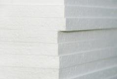 styrofoam πίνακες Στοκ Φωτογραφίες