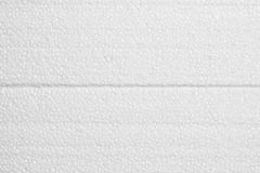 Styrofoam πολυστυρολίου σύσταση αφρού Στοκ εικόνες με δικαίωμα ελεύθερης χρήσης