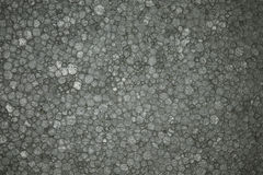 Styrofoam Background Texture closeup detail grey Royalty Free Stock Photography