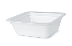 Styrofoam bowl Stock Images