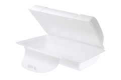 Styrofoam Box Stock Photo