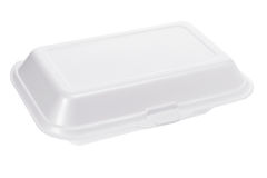 Styrofoam Box Stock Image
