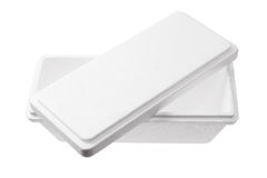 Styrofoam Box Royalty Free Stock Photos