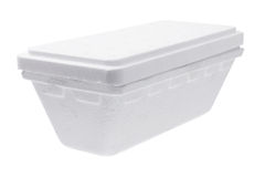 Styrofoam Box Stock Photography