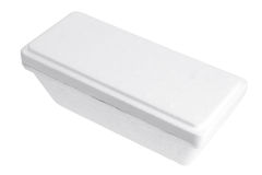 Styrofoam Box Royalty Free Stock Images