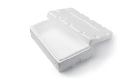 styrofoam box Royalty Free Stock Photography