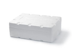 styrofoam box Royalty Free Stock Photos