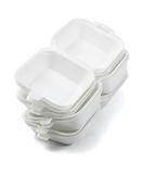 Styrofoam Boxes Stock Photos