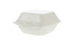 Styrofoam container Stock Image