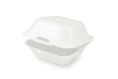 Styrofoam container Royalty Free Stock Images