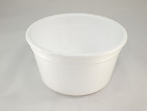 Styrofoam cup stock photography