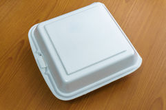 Styrofoam for food container inside Royalty Free Stock Image
