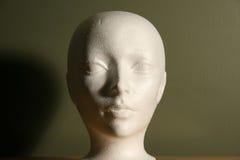 Styrofoam Head Royalty Free Stock Image