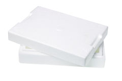 Styrofoam Packing Box Royalty Free Stock Photo