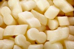 Styrofoam peanuts Stock Images