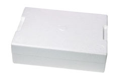Styrofoam Storage Box Royalty Free Stock Photos