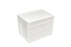 Styrofoam storage box Stock Photo