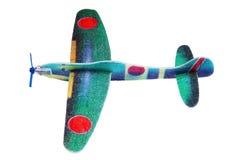 Styrofoam toy aeroplane Stock Photography