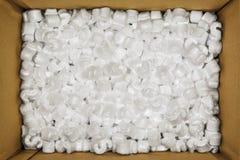 Styroschaum-Erdnüsse Lizenzfreie Stockfotos