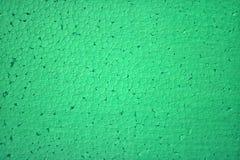 Styroschaum unter Verwendung der grüne Farbbeschaffenheit Lizenzfreies Stockbild
